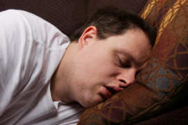 Man's tongue & tonsils put him at risk for sleep apnea